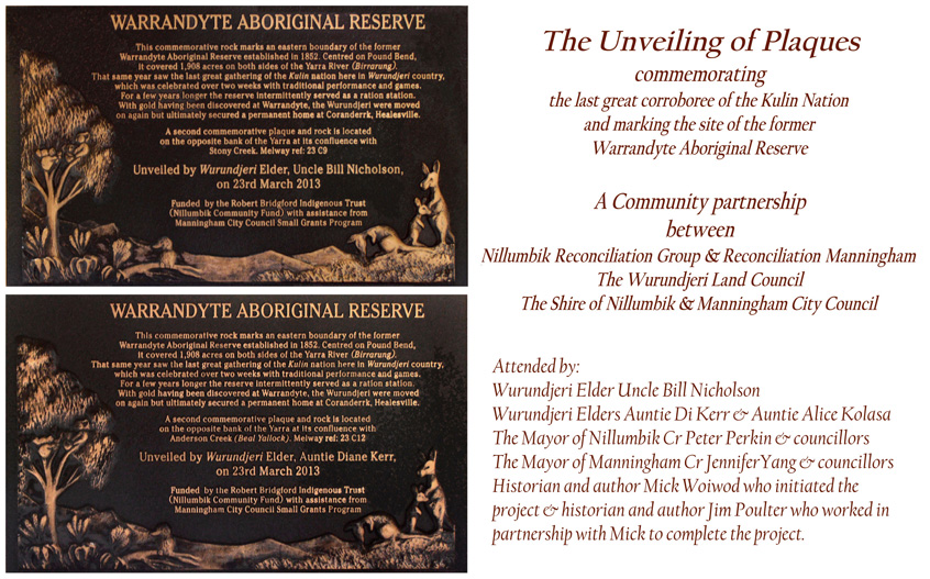 Warrandyte Aboriginal Reserve