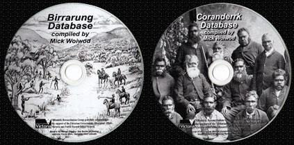Nillumbik Reconciliation Group - Coranderrk & Birrarung database