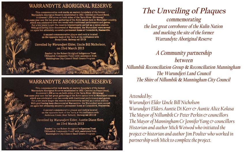 Warrandyte Aboriginal Reserve