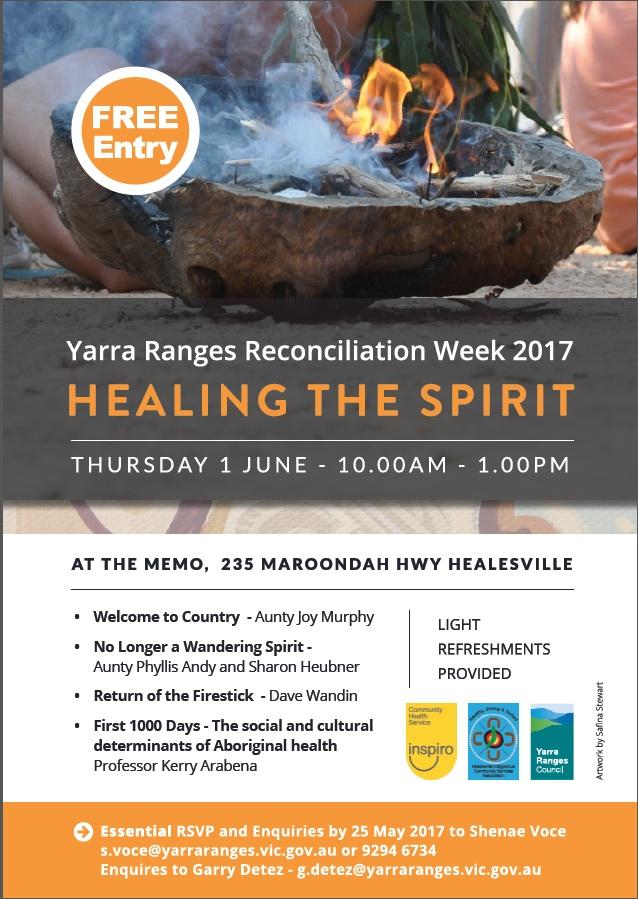Yarra Ranges Reconciliation Week 2017
