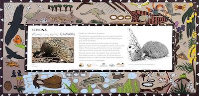 Nillumbik Reconciliation Group - Gawa Trail plaques