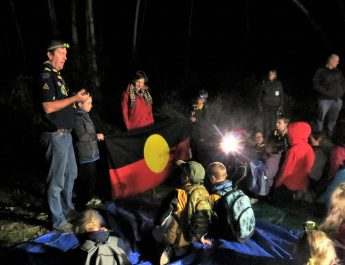 Eltham North Cub Scouts on the Gawa Trail